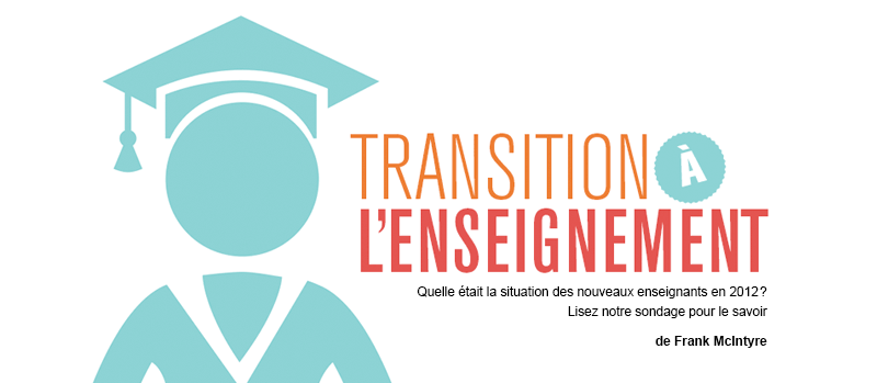 Transition à l'enseignement